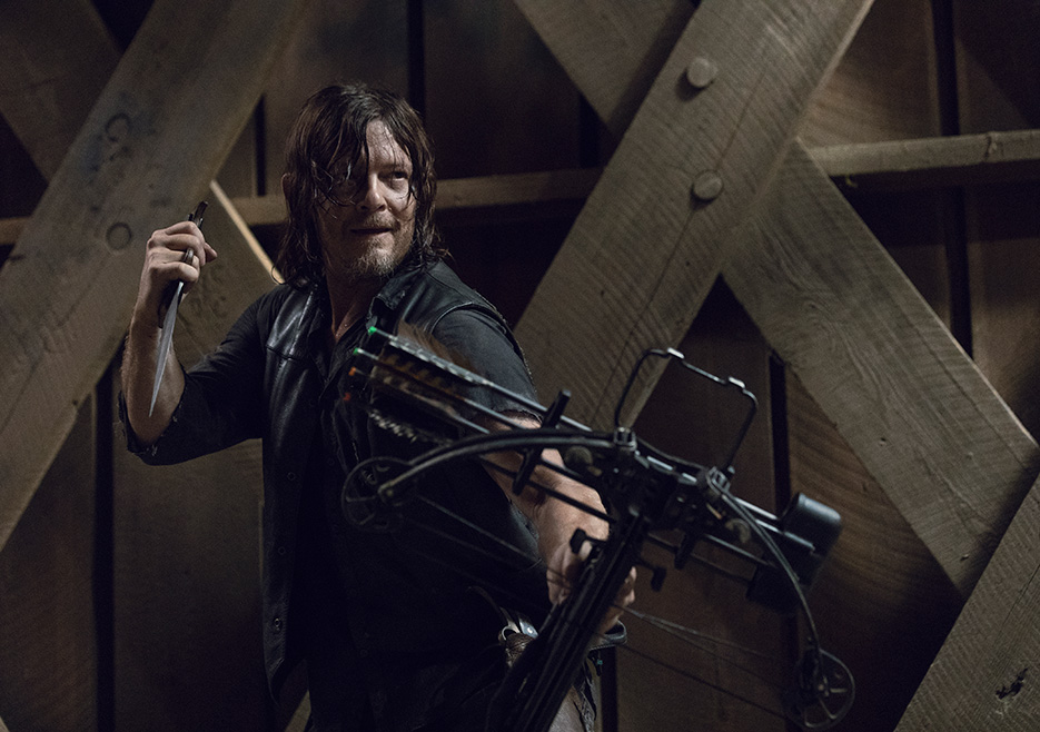 Daryl Dixon (Norman Reedus) in The Walking Dead photo credit: Jackson Lee Davis (AMC)