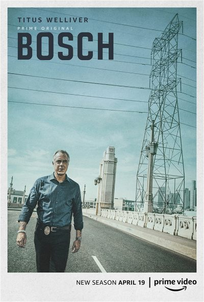 Key art for Bosch Season 5, Amazon Prime