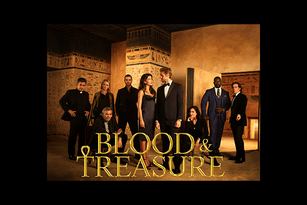 Blood and Treasure Matthew Federman
