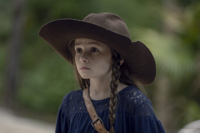 Cailey Fleming as Judith Grimes - The Walking Dead _ Season 10, Episode 8 - Photo Credit: Gene Page/AMC