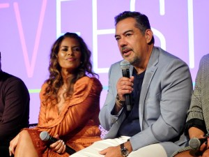 Actors Lisa Vidal and Carlos Gómez at SCAD aTVfest. photo credit: Tracey Phillipps/So Many Shows