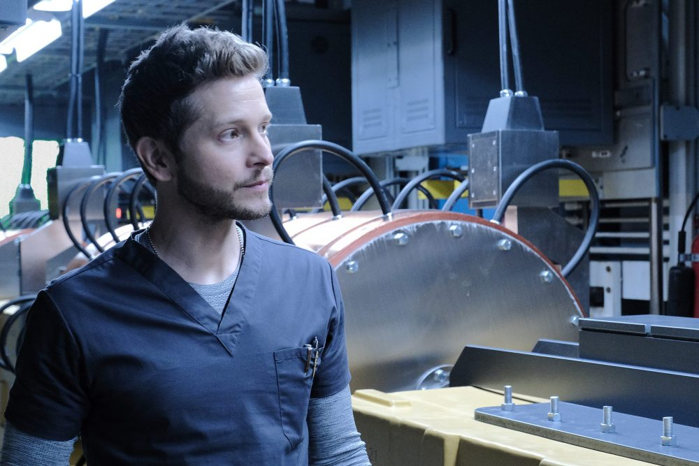 "THE RESIDENT: Matt Czuchry in the ""From the Ashes"" season premiere episode of THE RESIDENT airing Tuesday, Sept. 24 (8:00-9:00 PM ET/PT) on FOX. ©2019 Fox Media LLC Cr: Guy D'Alema/FOX"