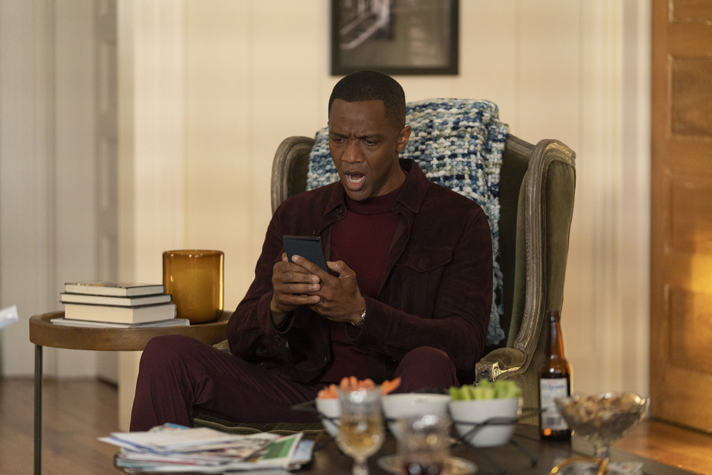 """COUNCIL OF DADS -- """"Tradition"""" Episode 105 -- Pictured: J. August Richards as Dr. Oliver Post -- (Photo by: Seth F. Johnson/NBC)"""