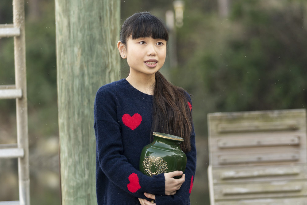 "COUNCIL OF DADS -- ""Heart Medicine"" Episode 106 -- Pictured: Thalia Tran as Charlotte Perry -- (Photo by: Seth F. Johnson/NBC)"