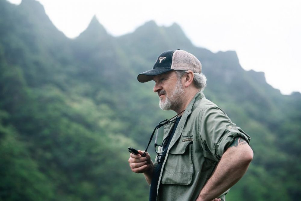Michael McDonough in 'Jurassic Valley', Hawaii on the set of I Am the Night photo credit: Clay Enos