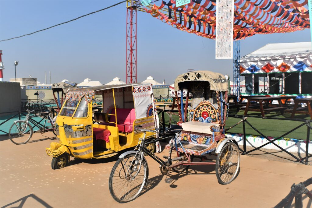 Colourful Rickshaws, Rann Utsav