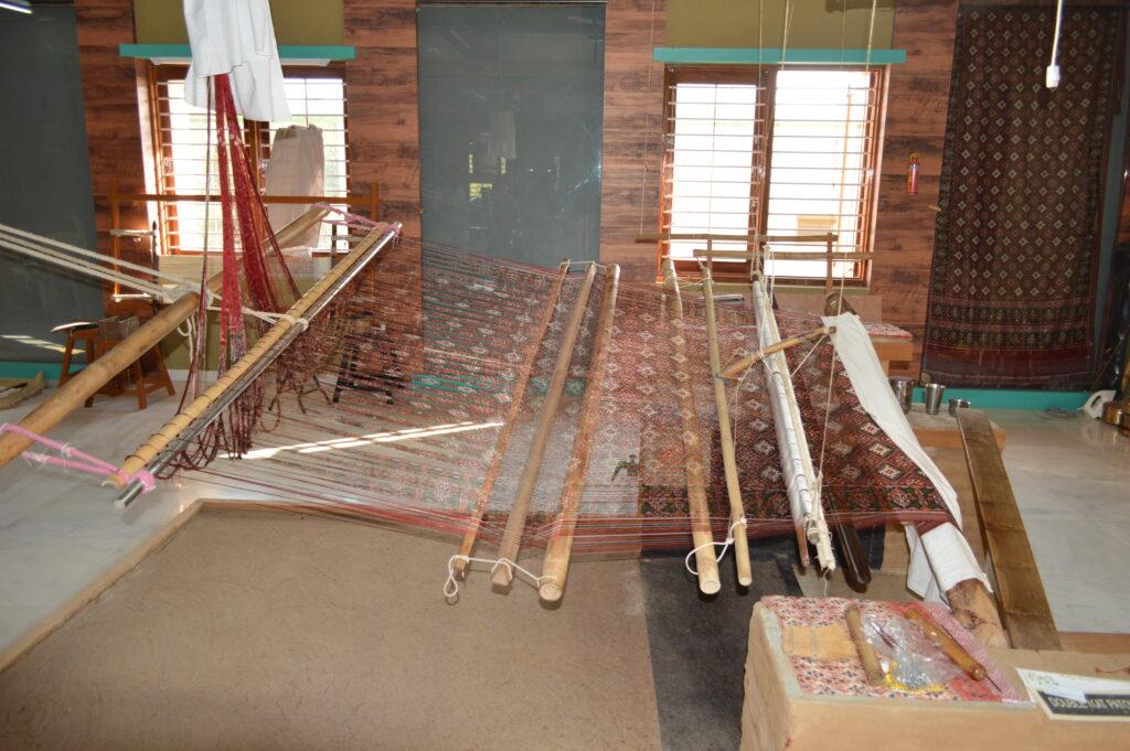 Weaving Loom at Patola House, Patan Gujarat