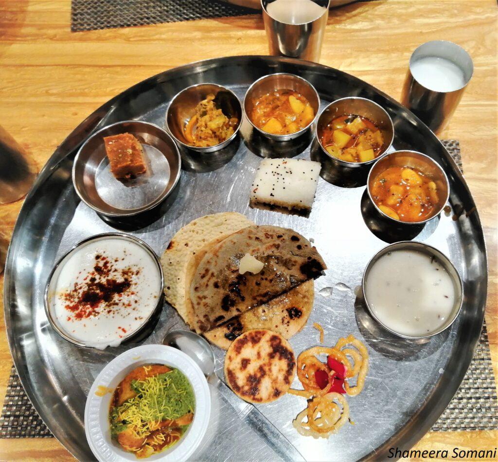 Gujarati Thali, Bhuj