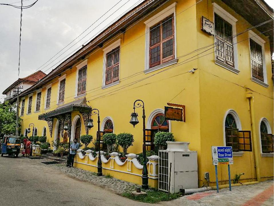 Princess street, Old Kochi