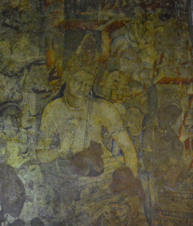 Bodhisattva Padmapani Cave 1, Ajanta