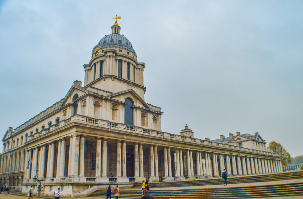 The Chapel in Royal Naval College, Greenwich