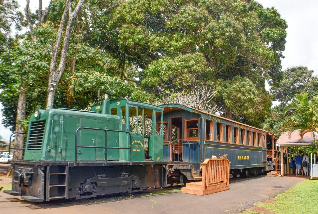 Kilohana-Plantation-railway