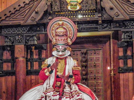 Kathakali Classical Dance Performance, Kerala @Rafiq Somani