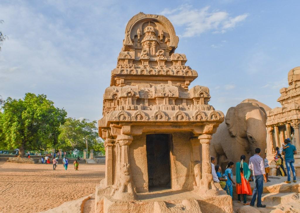 Nakula-Sahadeva-Ratha-Mahabalipuram