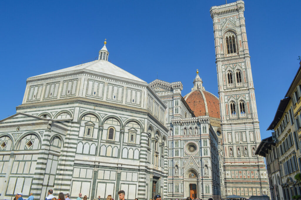 Baptistry of San Giovanni and Giotto's Campanile, Florence
