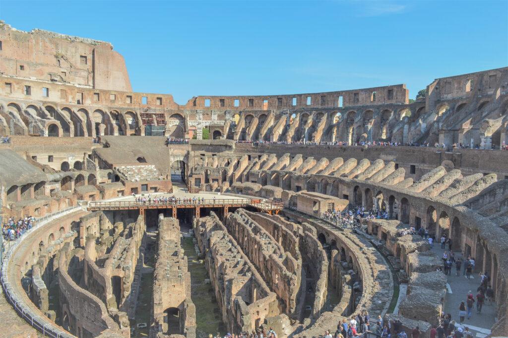 Colosseum, a Flavian Amphitheatre, Rome