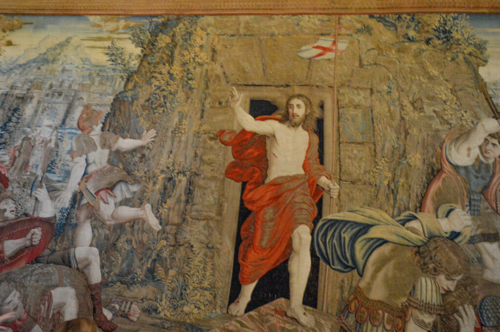 Resurrection of Christ,Gallery of Tapestries, Vatican