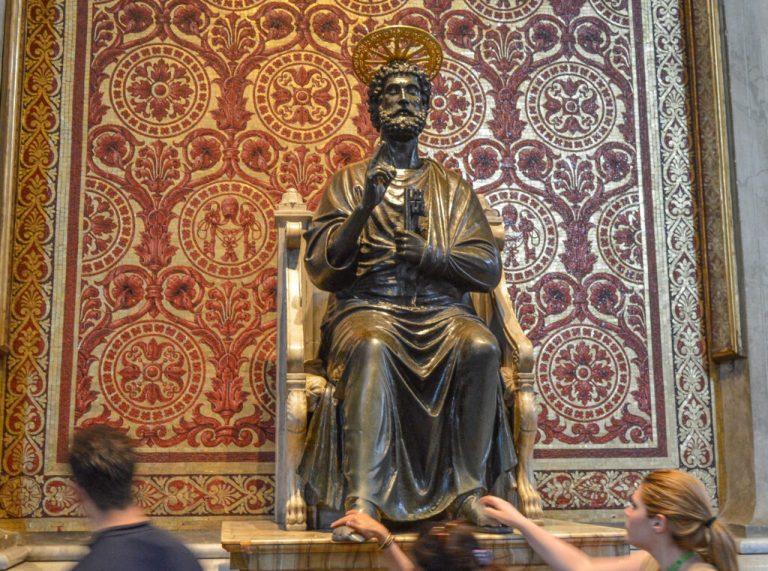 St. Peter Enthroned, Vatican