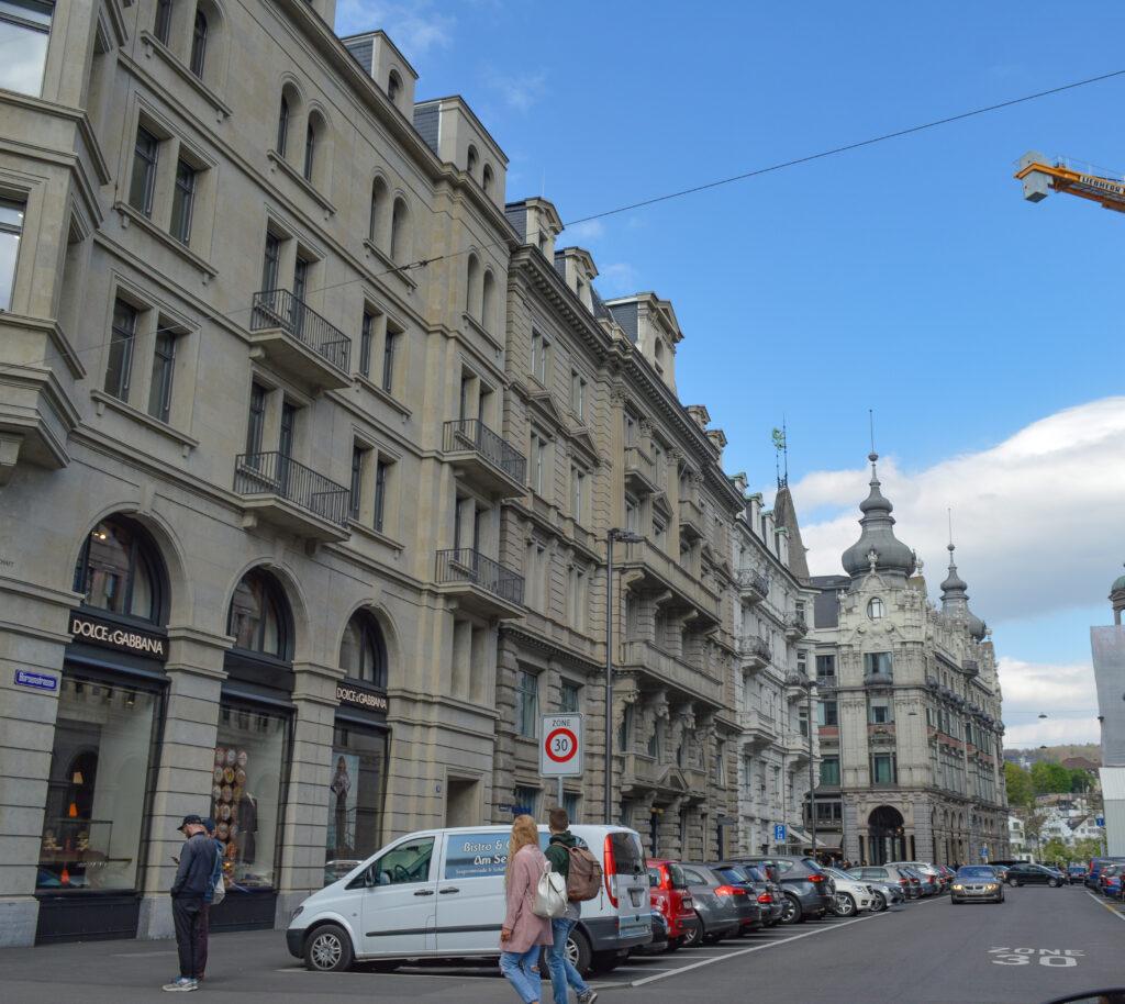 Bahnhofstrasse, the 5th Avenue of Zurich