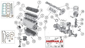 Diagrams For Jeep :: Engine Parts :: 25L Engine