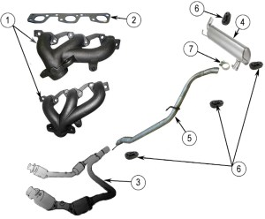 Diagrams For Jeep :: Exhaust Parts :: 20072017 Jeep