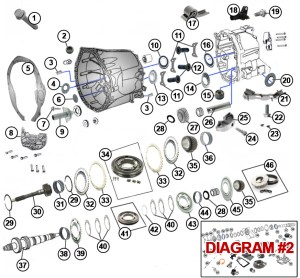 Diagrams For Jeep :: Transmission Parts :: Transmission