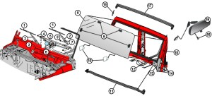 1995 Jeep Wrangler Windshield Frame Replacement  Best