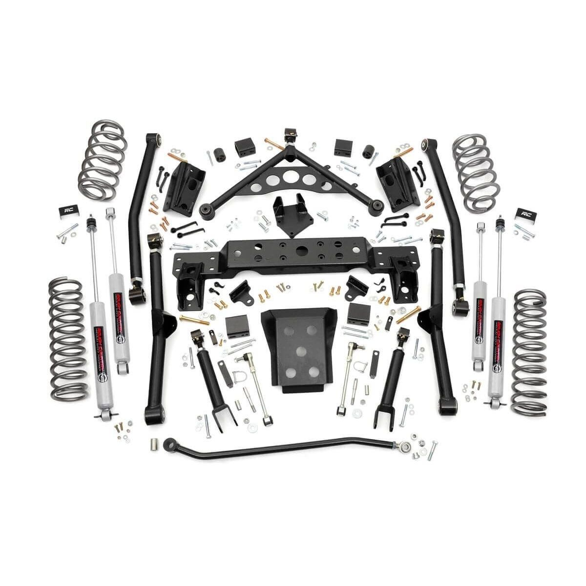 Rough Country 4in Jeep Long Arm Suspension Lift Kit