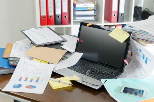 las oficinas sin papel