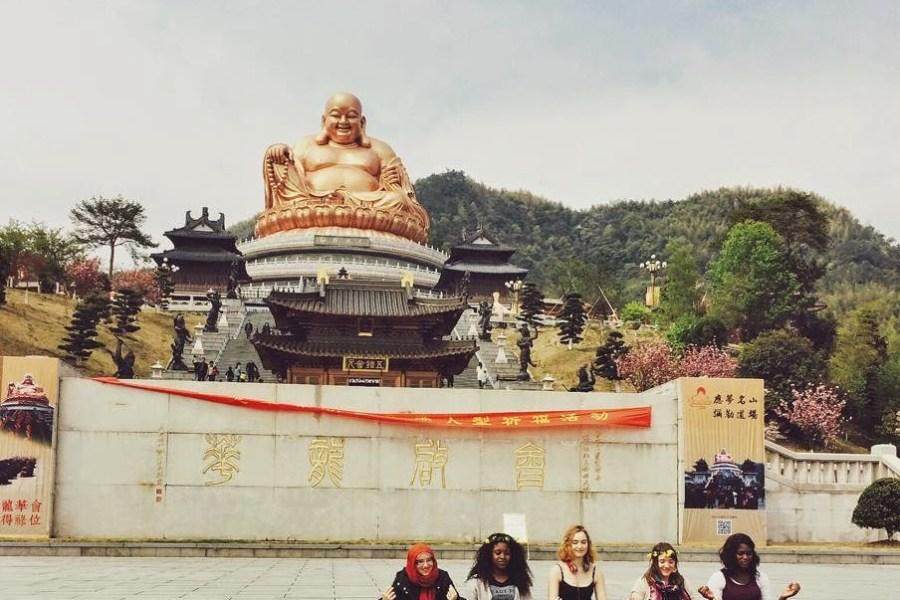 xikou friends buddha china