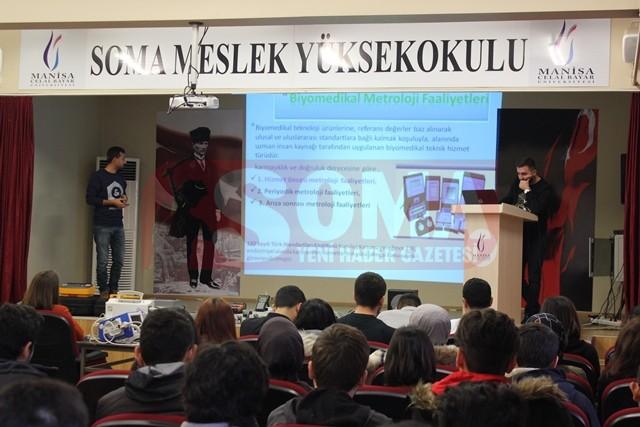 Soma MYO Öğrencilerine Tıbbi  Cihazların Kalibrasyonu Eğitimi