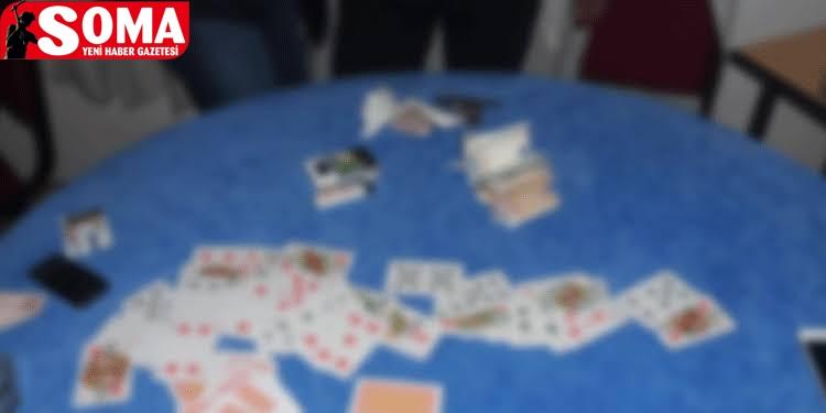 Soma'da kumar baskını…