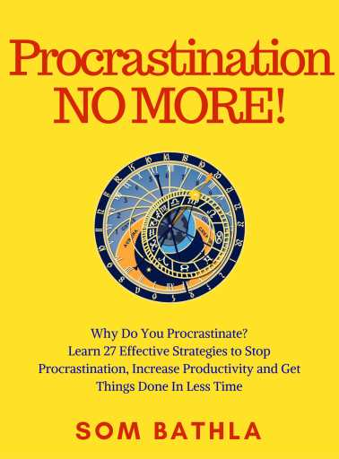 Procrastination-No-More-V8-28-8-2017-Yellowish.-1-755x1024 3 Reasons Why People Procrastinate Their Work (and Dreams Too)!