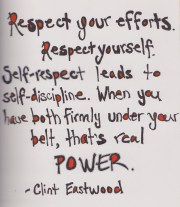 self-respect is power quote