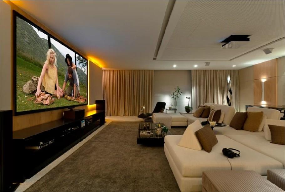 Casa cor sala de cinema - Sala cinema in casa ...
