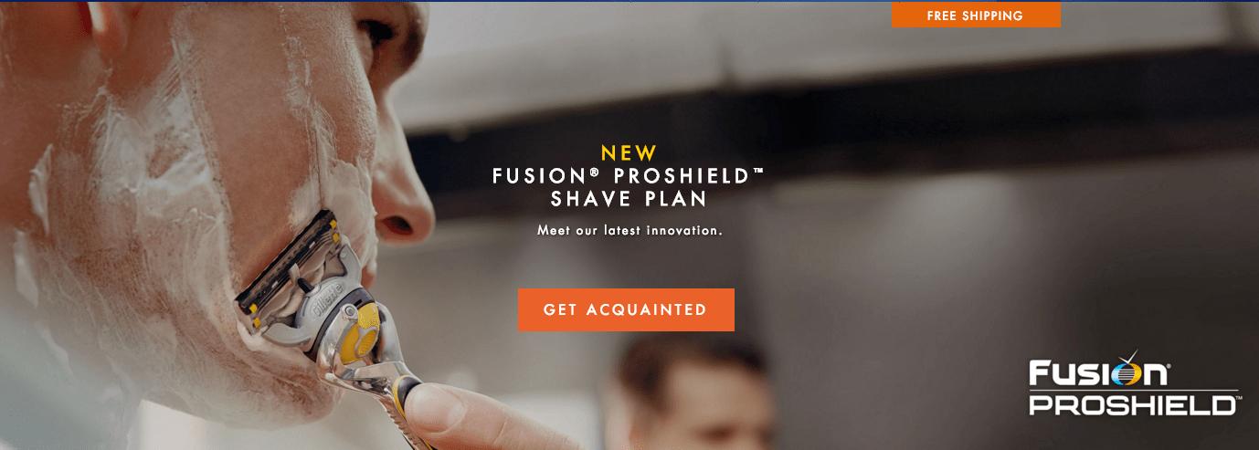 Vorteile des Shaving Clubs von Gillette