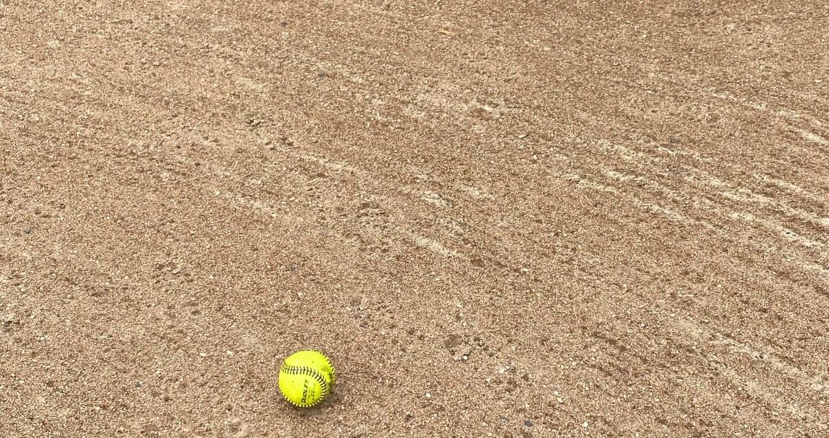 Little League Baseball Field - Yellow Ball