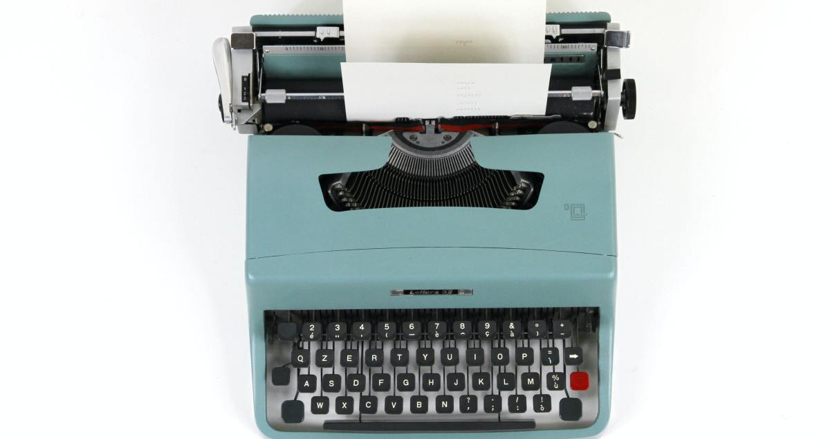 Learn at Some Small Things - Typewriter