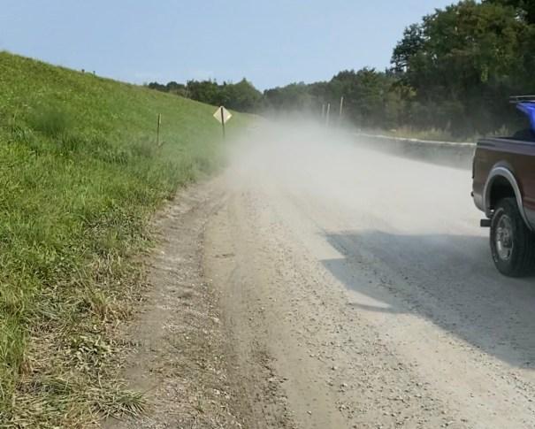 Dirt Road Dust in Croton