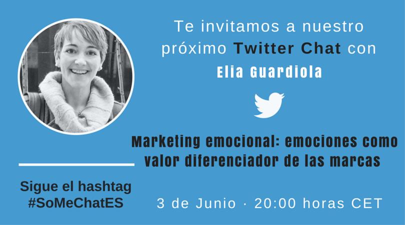 Tweetchat Marketing emocional con Elia Guardiola