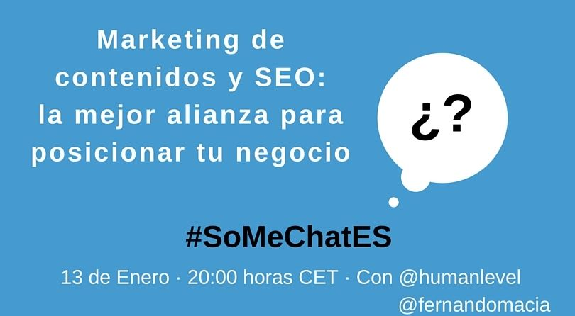 #SoMeChatES preguntas Twitter chat Fernando Maciá