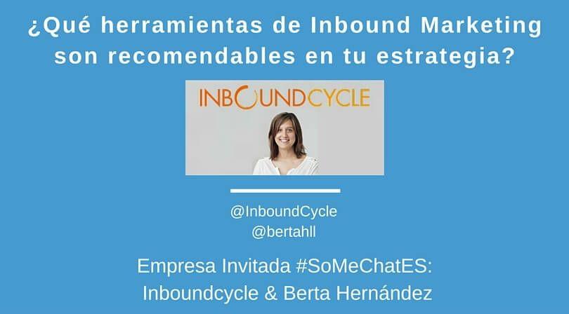 Herramientas Inbound Marketing Twitter chat Iboundcycle berta hernandez