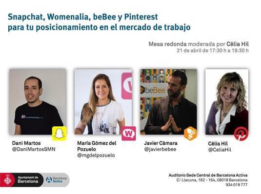 Crear marca personal - mesa redonda barcelona activa