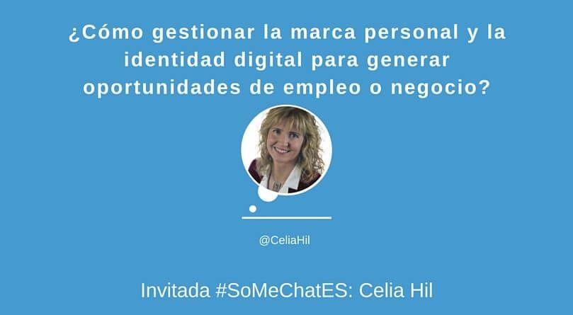 Cómo crear marca personal Twitter chat Celia Hil