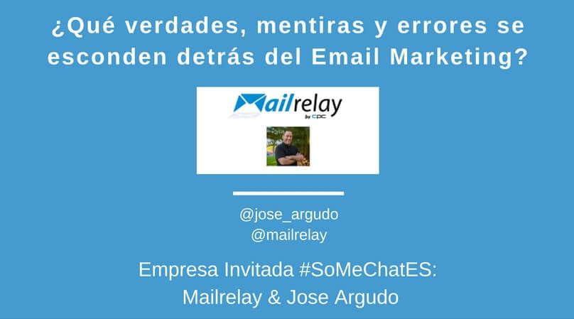 Email marketing tips - Twitter chat Jose Argudo Mailrelay