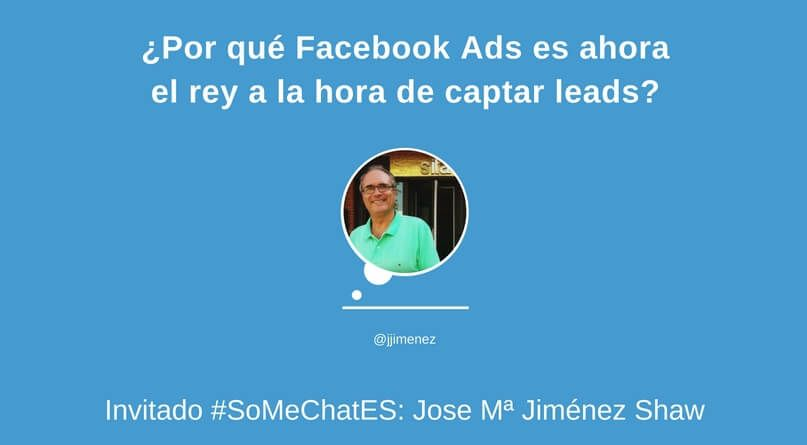 Captar leads con Facebook Ads Twitter chat