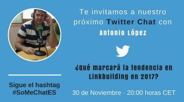 Tendencias SEO y Linkbuilding en 2017 – Twitter chat