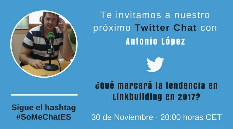 Tendencias SEO Twitter chat Antonio López