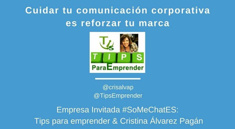 Qué es la comunicación corporativa Twitter chat Cristina Álvarez
