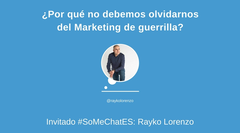 Marketing de guerrilla: Todo lo que debes saber - Twitter chat